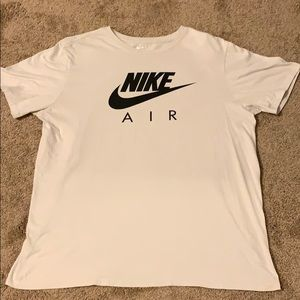 Men's Nike Air T-Shirt Size XL Tan/Black